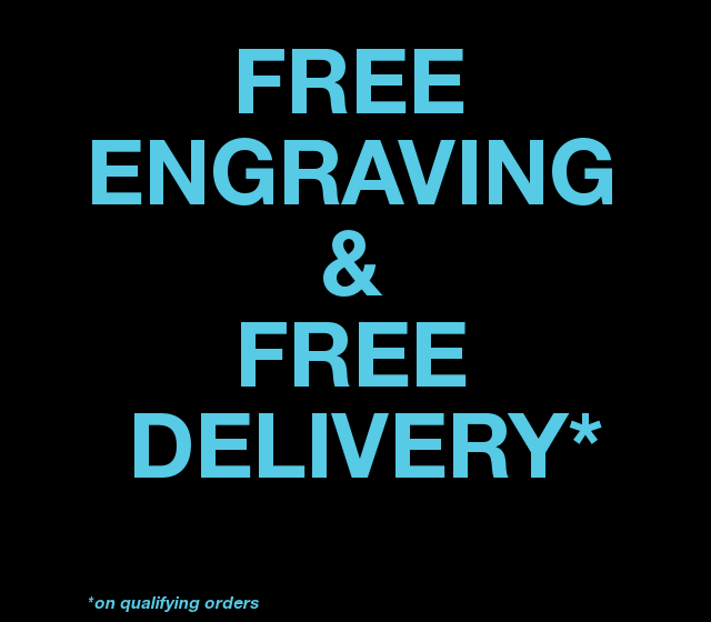 Free Engraving & Free Delivery