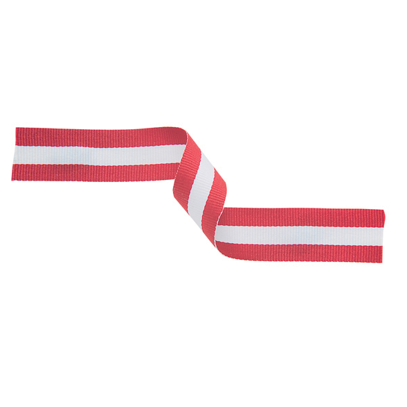 Red, White and Red Ribbon