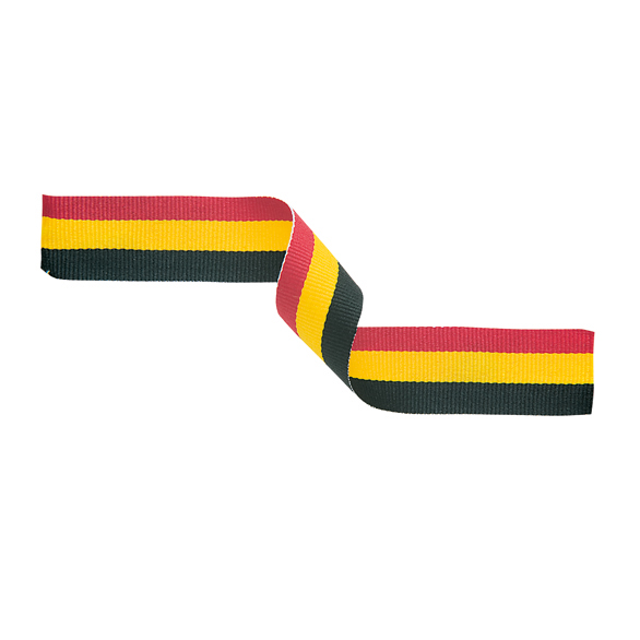 Red, Yellow and Black Ribbon