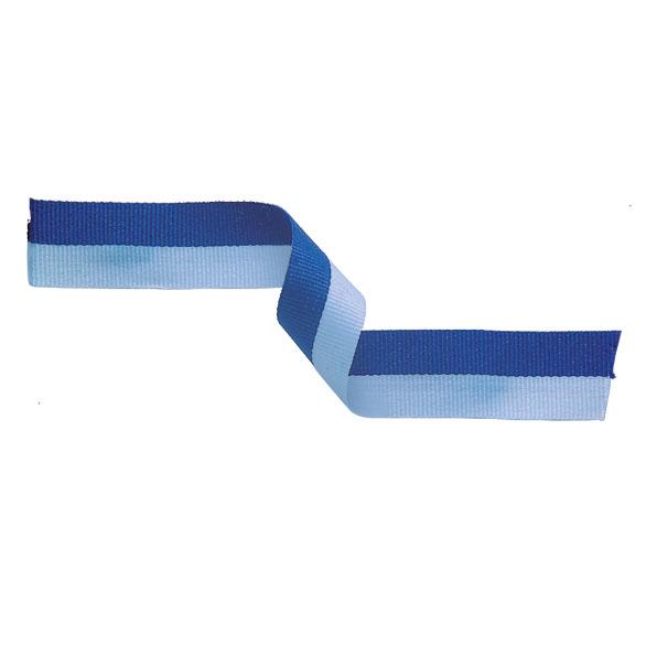 Light Blue and Blue Ribbon