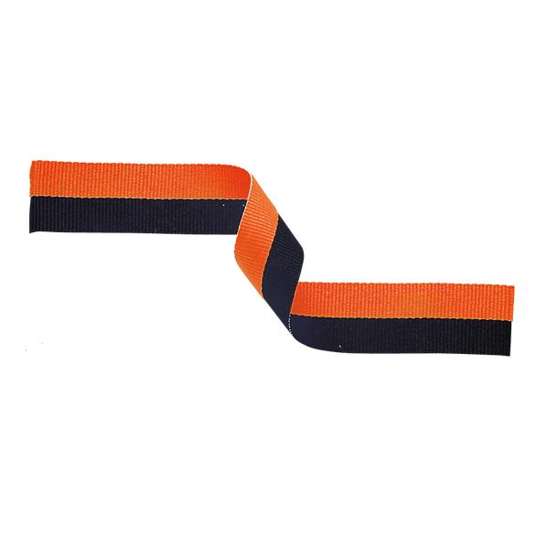 Orange and Black Ribbon