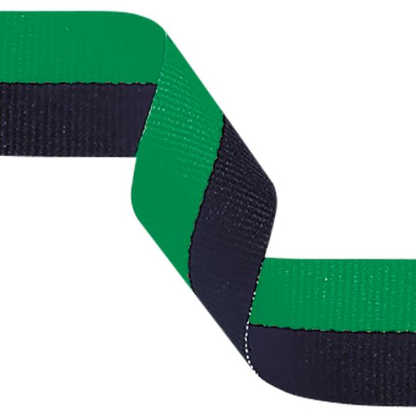 Green and Black Ribbon