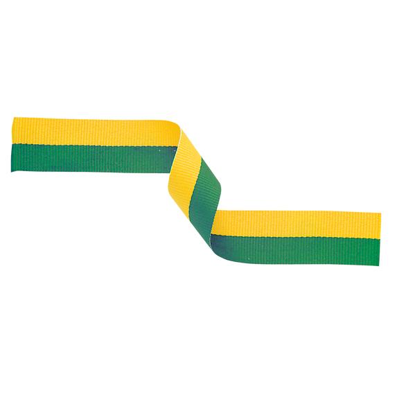 Green and Gold Ribbon